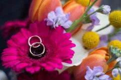 Flowers & rings.